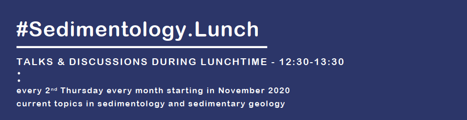 Logo #Sedimentology.Lunch