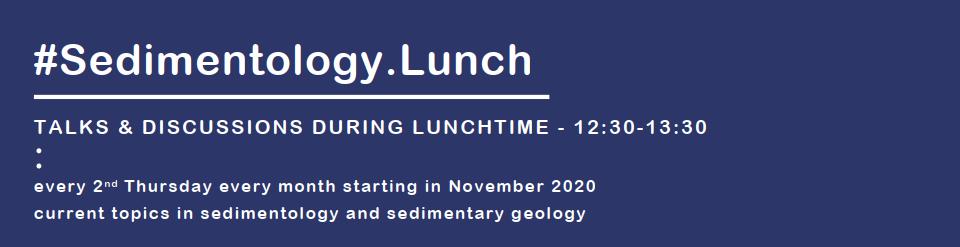 Logo #Sedimentology.Lunch