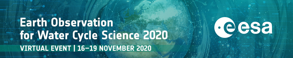 Logo Earth Observation for Water Cycle Science 2020